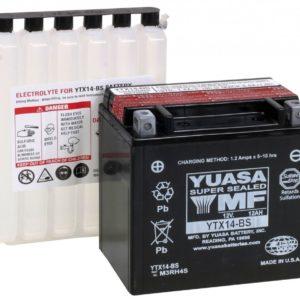 Yuasa motoraccu YTX14-BS